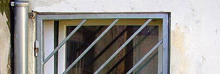 metallarbeiten sicherheit und einbruchschutz gittert r. Black Bedroom Furniture Sets. Home Design Ideas