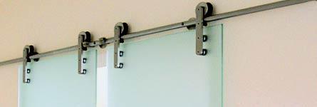 Doppelschiebetür Glas metallarbeiten | fenster und türen - einbruchsicherheit | schiebetür