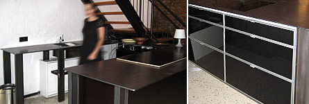 metallarbeiten ma gefertigte m bel aus stahl loft. Black Bedroom Furniture Sets. Home Design Ideas